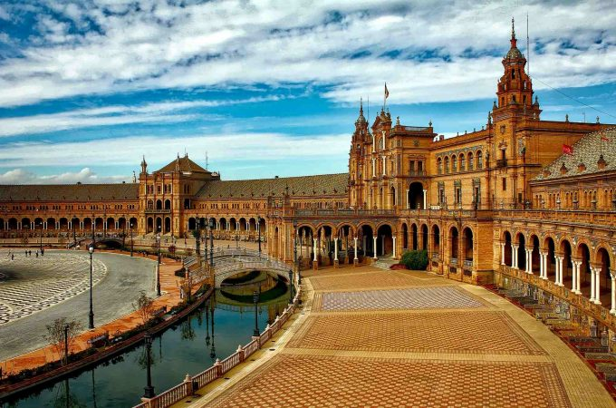 Seville the city where all people know how to dance flamenco