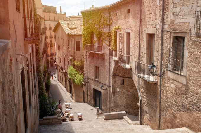 Girona is one of the most ancient and noble cities in Spain.