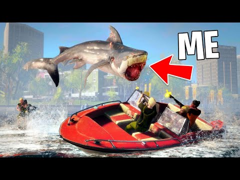 Typical Gamer Play As A Megalodon Shark Maneater Part 2