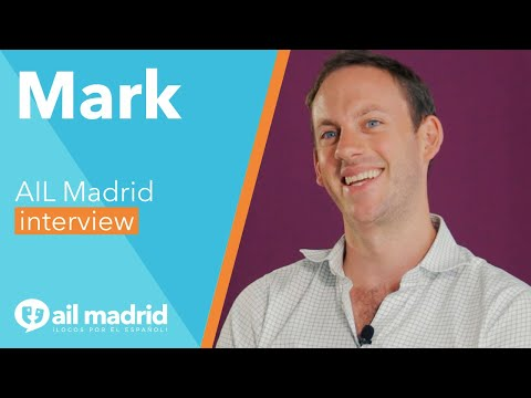 [AIL MADRID 마드리드 어학원] Our encouraging student Mark, from London!