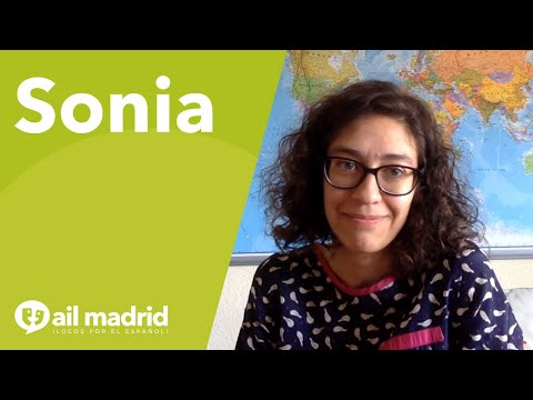 [AIL MADRID 마드리드 어학원] Sonia loves to teach Spanish so she can share its culture!